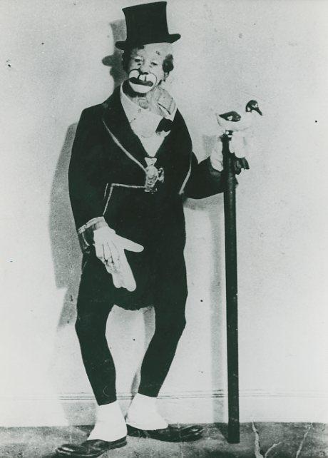 O Palhaço Piolin. Foto Autoria não identificada. ca 1950